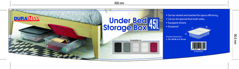 Final - Under Bed Storage box 45 Ltr_2018-May -Outlined Duramax