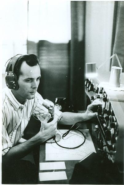 Ron on the radio (KZ5RF)