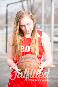 Molly's Eighth Grade Basketball Session (8)