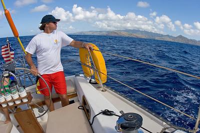 leaving Oahu,  Bob