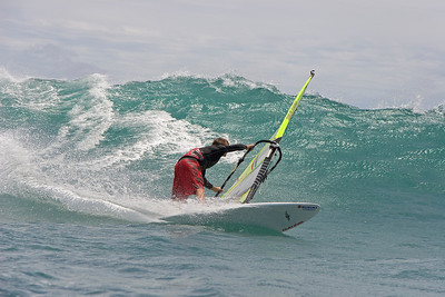 sailing, Peter at Haleolono