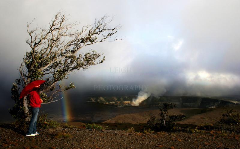 ~ Colors of Halama`uma`u ~<br /> <br /> Kilauea Caldera's crater, Halema`uma`u within Hawaii Volcanoes National Park