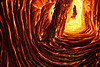 Inside an active lava cave in Kalapana Gardens November 25th, 2010<br /> <br /> IMG# D8607<br /> prints well at 40x60-inches