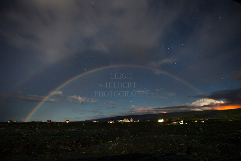 Double night rainbow Image # LRH_4845