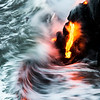 Molten lava meets the Pacific Ocean, Island of Hawaii<br /> <br /> This one is heading for the lab for large canvas prints!<br /> <br /> Image #LRH_4119_sqr<br /> Date Taken:	2013-06-15 05:40:51<br /> Camera:	Canon EOS-1D X<br /> Exposure Time:	0.1666s (1/6)<br /> Aperture:	f/8<br /> ISO:	100<br /> Focal Length:	200mm