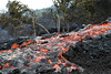 River of molten, but chunky, pahoehoe<br /> <br /> Image# Royal Gardens_2766