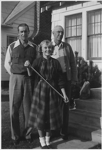 Great Grand Dad - Mom (Dallas Katherine Barber) - Owen E. Kinnard (Not looking real pleased!