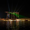 Marina Bay Sands and the Waterfront at Night