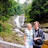 Mom and Sally at Lata Iskandar Waterfall