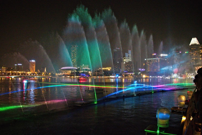 Singapore Water and Light Show