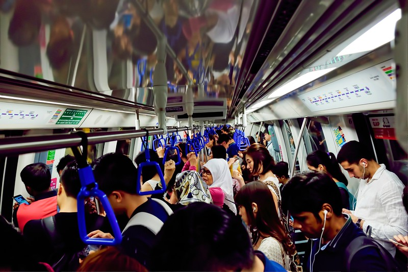 Singapore MRT Rush Hour