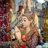 Burmese Buddhist Statue