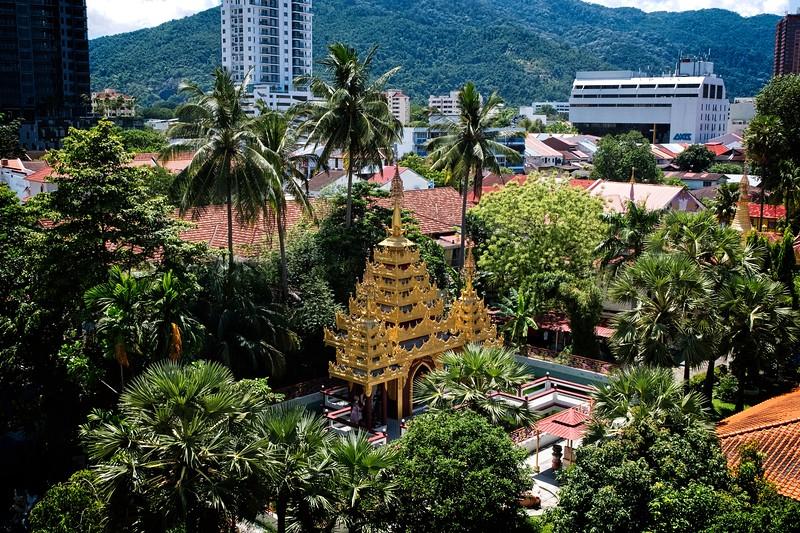Burmese Temple Grounds