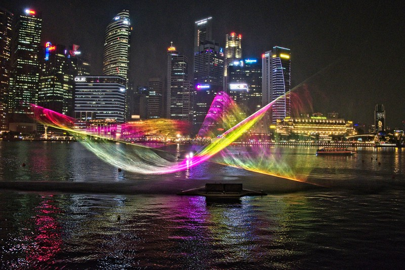 Singapore Bay Laser Light Show