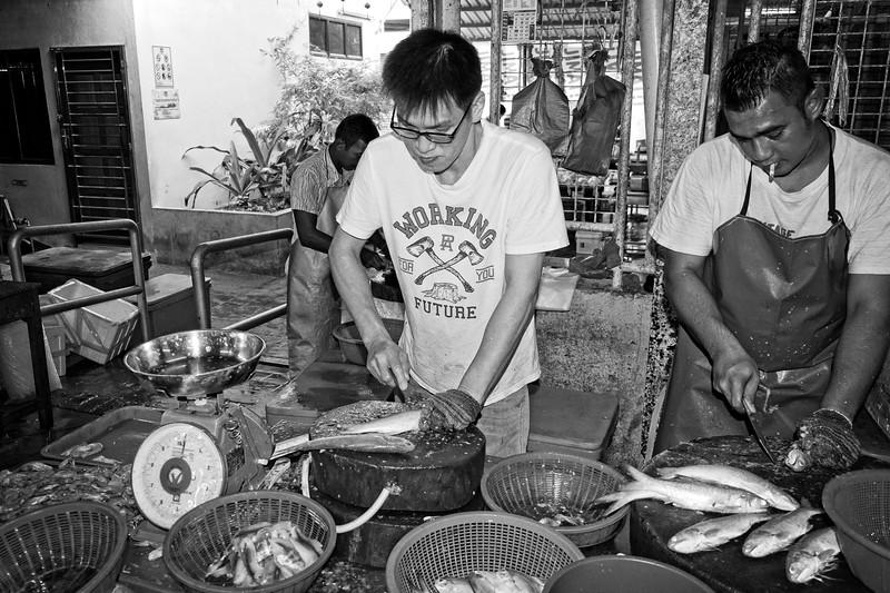 Wet Market Fish Monger