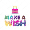 Happy birthday cake wish paper cut greeting card