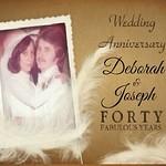 Deborah & Joseph's 40th Anniversary