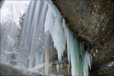 Bridal Veil Falls. Manitoulin Island, ON.