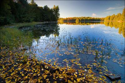 Balsam Lake. Killarney Provincial Park, Ontario.