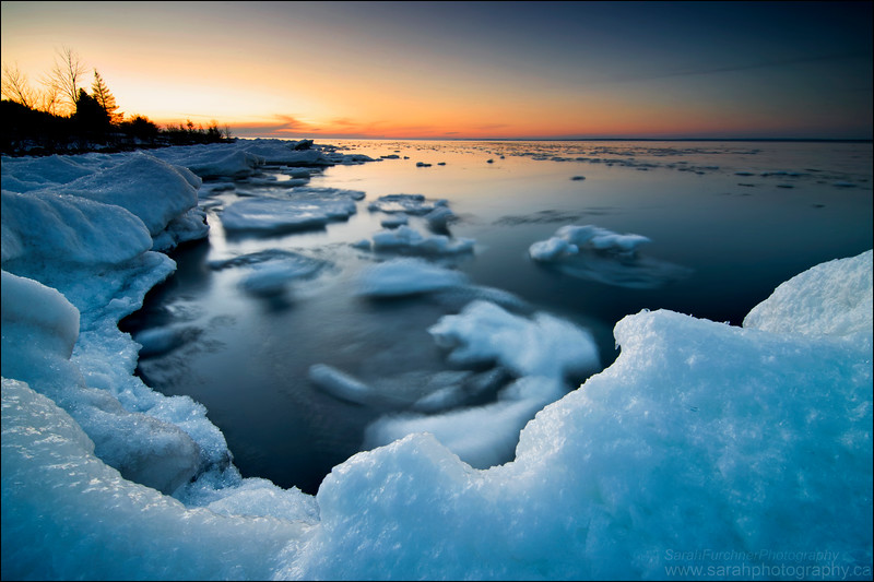 Lake Huron. Gore Bay, Manitoulin Island