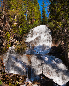 Skalkaho Falls - Near Hamilton, MT -  Use File name below for ordering
