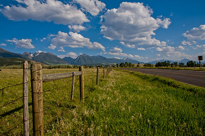 Absaroka Mtns near Livingston, MT  Use File name below for ordering