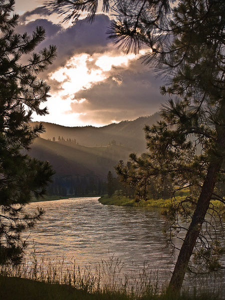 Clark Fork River near St. Regis, MT - Note File name for ordering