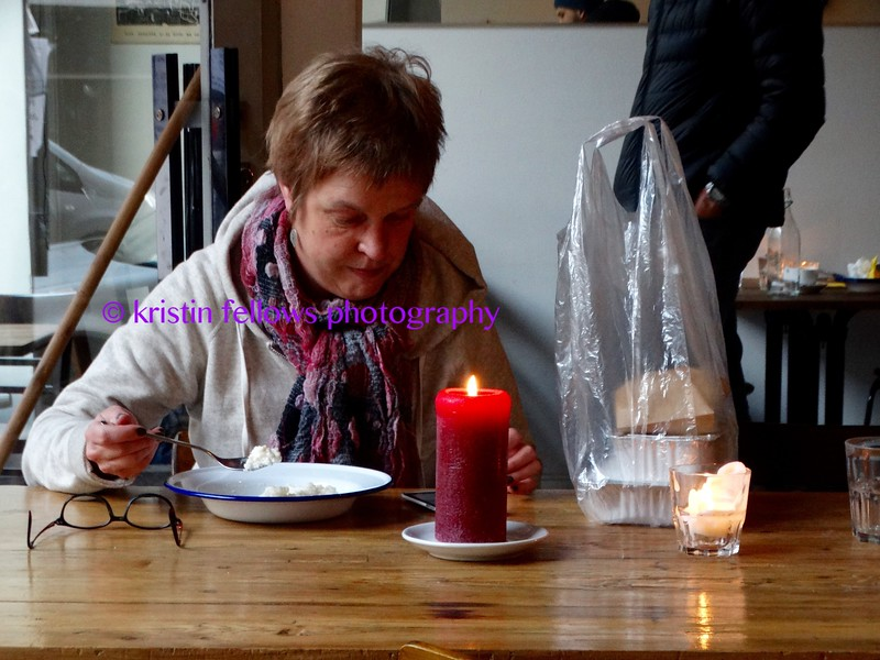 Breakfast by candlelight, Finland