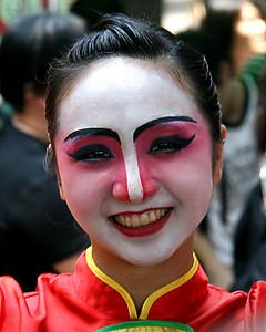 Chinese Dancing Girl, May 2008