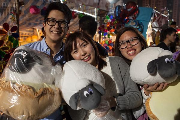 Chinese New Year Fair, Victoria Park, 2015
