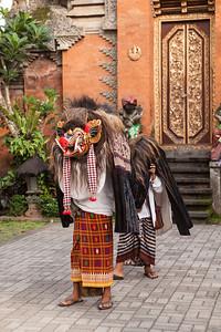 Barong at the Palace, Ubud, Bali