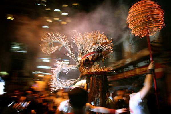 Fire Dragon, Tai Hang, 2008