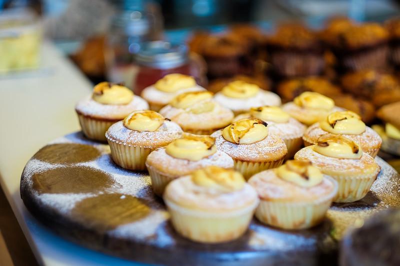 Lemon Yoghurt Cupcakes at Lid & Jar
