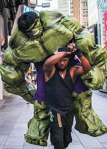 Hulk, New York City