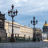 Evening Light on Palace Square, St. Petersburg, Russia