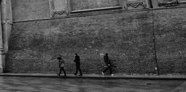 Rainwalks, Bologna, Italy