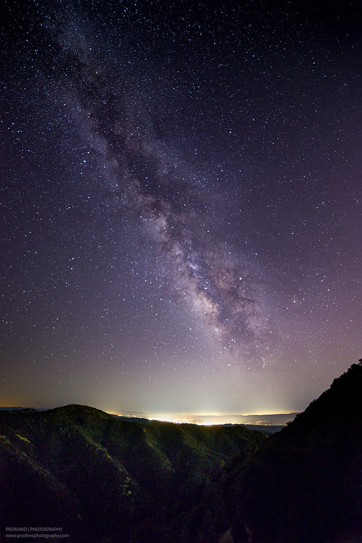 Made from 20 light frames (captured with a Canon camera) by Starry Landscape Stacker 1.4.5.