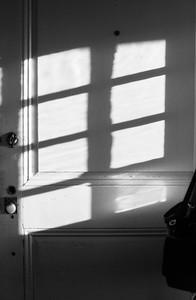 Window Light on Door