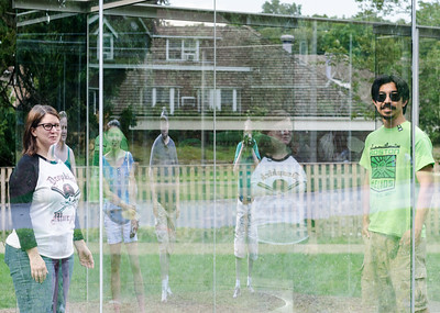 Transparent/Reflection, deCordova sculpture garden