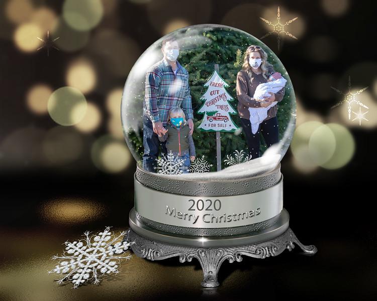 clark Snow globe