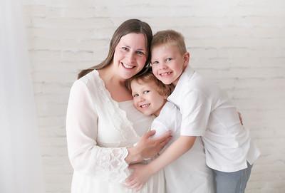 Mommy, Liam & Keegan