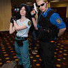 Jill Valentine and Albert Wesker