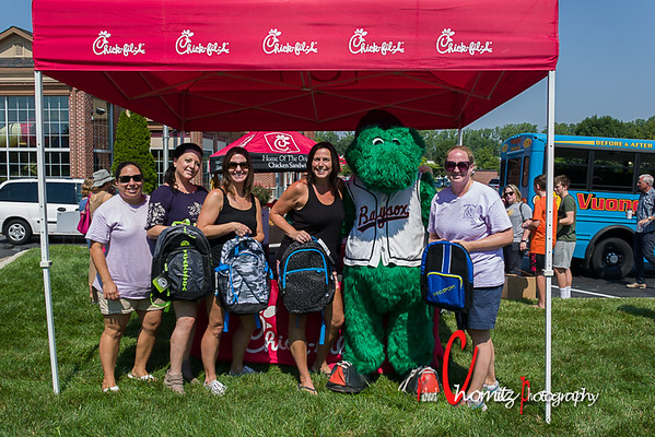 Moms Club  Backpack Event in Crofton