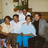 The Westberry Clan (L->R): Aunt Frances, Uncle Ronald, Uncle Vincent, Mom, Uncle Norman
