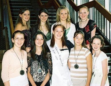 Spirit Ambassadors with Miss Congeniality