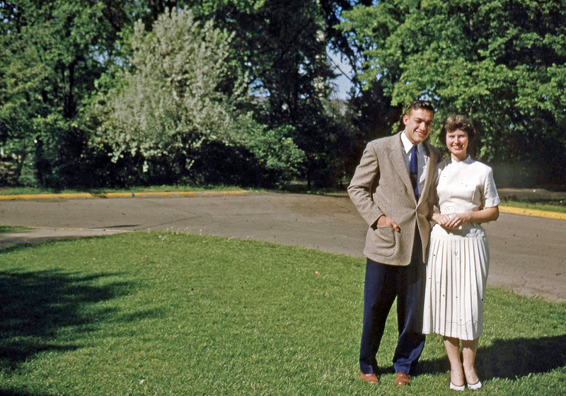 May 1955 - Dave Blaire & Elaine
