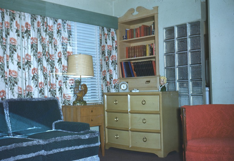 Dec 1949 - Our Front Room 2414 Bauman