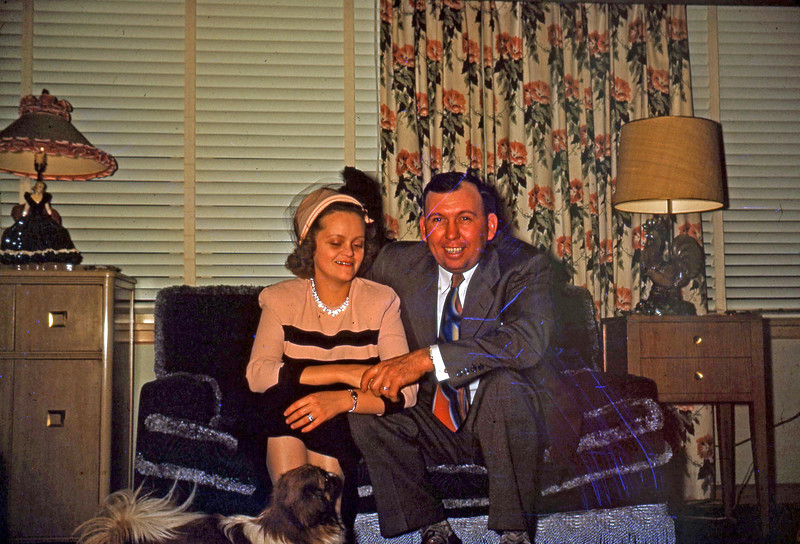 Dec 1949 - Agnes and Ed Kinder