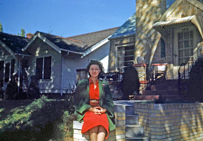 Oct 1949 - Licile Eckert at home