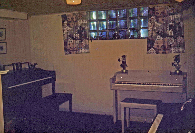 Dec 1949 - Our Piano Show Room - Basement